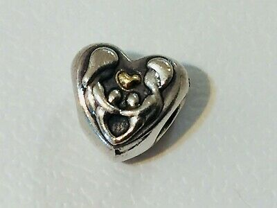AU49 • Buy Authentic Pandora Silver 14k Gold Heart Of The Family Charm 791771 Retired