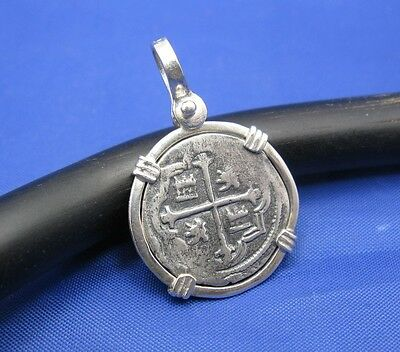 Pieces Of Eight Atocha Shipwreck Treasure Pirate Coin Replica Jewelry Pendant • 49$