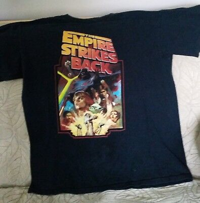 $15 • Buy The Empire Strikes Back Star Wars T Shirt Small S