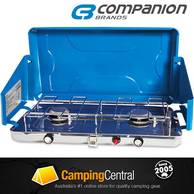 AU89.99 • Buy Companion Weekender 2 Burner Regulated Stove Cooker Gas Camping Comp534