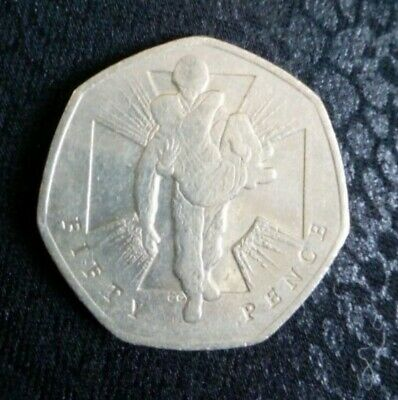 2006  50p Pence Coin Victoria Cross Wounded Soldier Heroic Acts • 499£