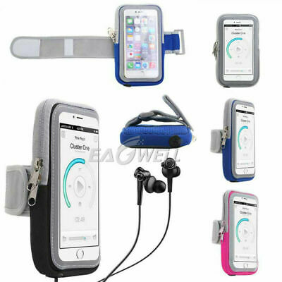 AU15.99 • Buy Sport Armband Gym Running Jogging Workout Pouch Arm Holder For IPhone Samsung AU