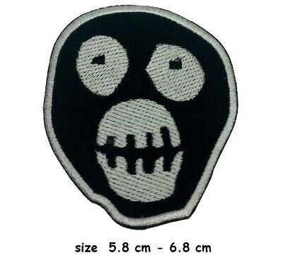 Mighty Boosh Mask Small Logo Iron-on Embroidered Patch Jacket Badge • 1.98£