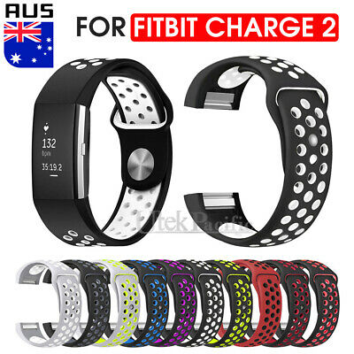 AU6.95 • Buy Sports Watch Band Strap For Fitbit Charge 2 Silicone Bracelet Smart Wristbands
