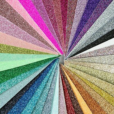 Shimmer Fine Glitter Fabric Sheet - A4 Size, Perfect For Sparkly Hair Bows • 3.55£