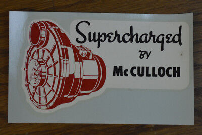 mcculloch supercharger