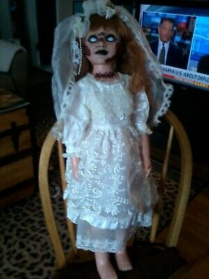 Rotting Dead Bride 24  Doll  Zombie Prop Scary Horror Ooak Halloween Prop • 75.97£