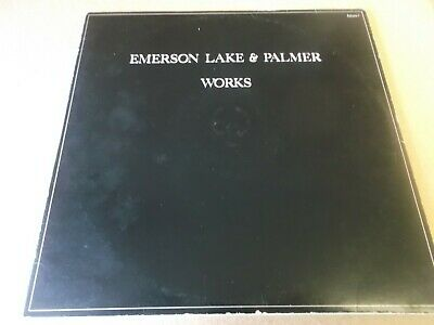 Emerson,lake And Palmer,works,double  Lp On Atlantic K80009,1977 • 12.99£