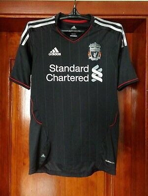 Liverpool 2011 - 2012 Away Football Shirt Jersey Adidas Size S • 28.37£