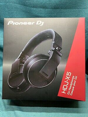 $ CDN147.35 • Buy Pioneer HDJ-X5-K Professional DJ Monitor Headphones Black