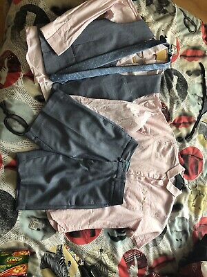Boys Short Wedding Suit (used Only Once) • 20£
