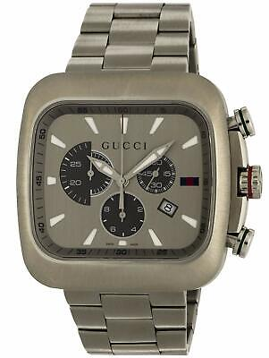 b6958a6ad8f Gucci Ya131201 Chronograph Quartz Mens Watch Coupe Fast Shipping From Japan  New • 541.95