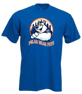 Pete Alonso New York Mets  Polar Bear Pete  T-Shirt • 10£