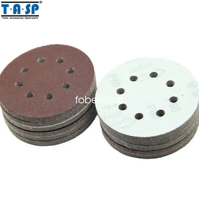 $ CDN32.21 • Buy 100PC 125mm 5-Inch Sand Disc Abrasive Sanding 8 Hole Paper Tools Grits 60 - 1500