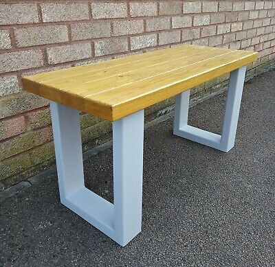 Wooden Bench Kitchen Dining Room Hallway Seat 3/4/5 FT Solid 100% Wood Handmade • 49.99£