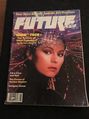 June 1980 FUTURE Life Magazine Star Wars Sequel Special Art Preview • 3.91£