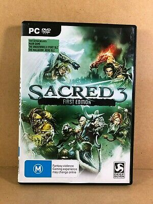 AU9 • Buy PC Game Sacred 3, First Edition, Windows Vista SP2, Win 7, Win 8
