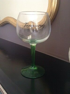 Tanqueray Gin Large Green Stemmed  Balloon Glass Brand New • 4.50£