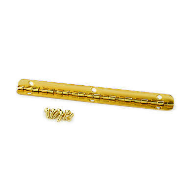 $2.99 • Buy Small Piano Hinge Brass Plated 96mm X 7mm
