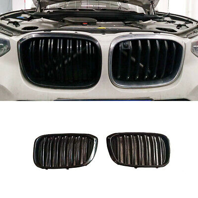 AU197.50 • Buy Glossy Black ABS Front Hood Kidney Grille Grill Mesh For BMW X3 G01 X4 G02 18-19