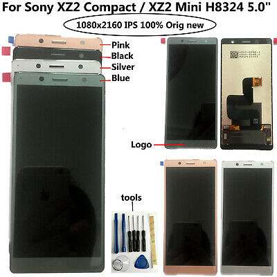 AU50.99 • Buy Original 5.0  For Sony XZ2 Compact / XZ2 Mini H8324 LCD Display Touch Screen