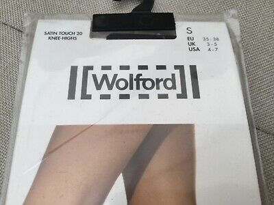 £13.19 • Buy Wolford Satin Touch 20 Knee Highs - Small 3-5 - Admiral