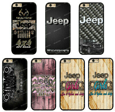 AU13.15 • Buy Jeep Realtre Camo Road Girls Rubber Phone Case Cover For IPhone / Samsung