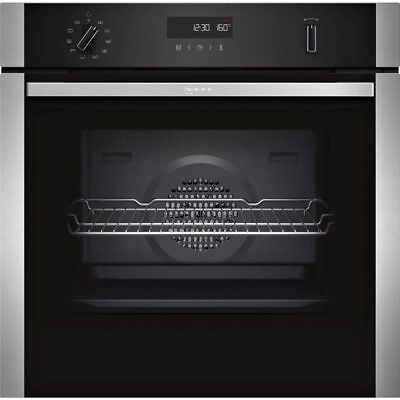 £629.99 • Buy Neff B2ACH7HN0B N50 Built In 59cm Electric Single Oven - Stainless Steel