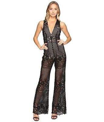 AU180 • Buy Alice McCall New Romantics Jumpsuit In Black Size 4      PRELOVEDEOFY For 7% OFF