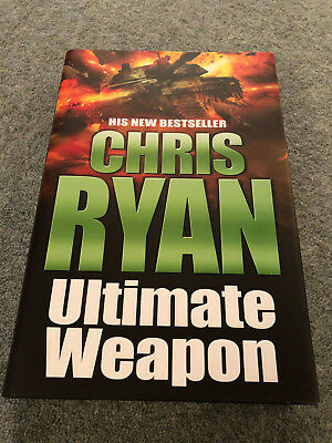 Ultimate Weapon By Chris Ryan Signed 1st/1st (Hardback, 2006) SAS Action • 3.50£