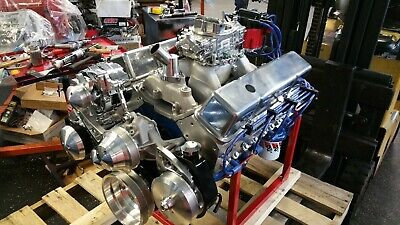 Chevy 355 Cid 400+hp Custom Crate Engine Turn Key Dyno Test 2 Year Warranty • 5,995$