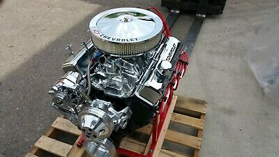 Chevy 383 Cid 410+hp Custom Crate Engine Turn Key Dyno Test 2 Year Warranty • 4,995$