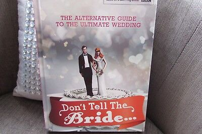 Don't Tell The Bride BBc T.V Series Hardback Book New And Unread • 4.99£