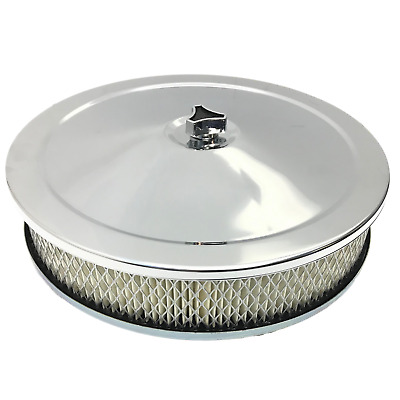 AU49.50 • Buy Chrome Air Cleaner Filter Assembly 9x2 2-5/8 Holden Ww Stromberg