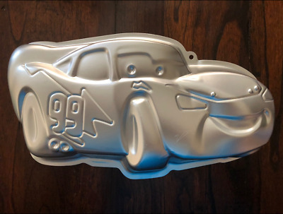 New Cars Lightning Mcqueen Cake Pan Birthday Party Mold • 10.85£