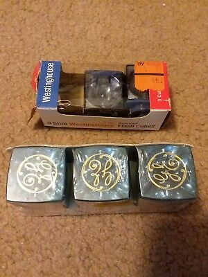 $11.95 • Buy Vintage 3 GE Bluecoat & 2 Westinghouse Flash Cubes