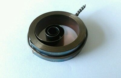 French /& German Hole End Clock Mainspring Height 27 Force 0.45 Diameter 45