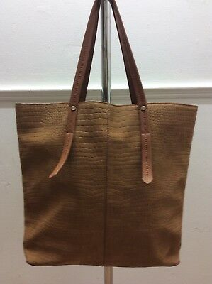River Island Large Leather Tote Bag • 35£