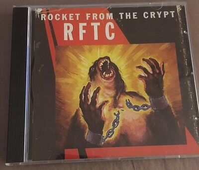 Rocket From The Crypt. RFTC. CD. 1998. Elemental Records • 4.99£