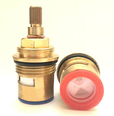 Replacement BATH Ceramic Disc Cartridges Taps Valves 20 24 Quarter Turn  3/4  • 7.79£