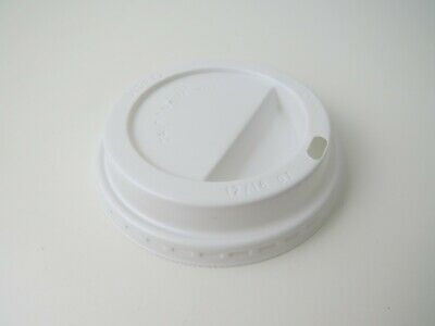 1000 X  Sip Thru Lids To Fit 12/16oz Dart Foam/ Polystyrene Cups  • 49.99£