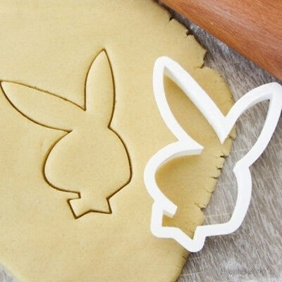 £4.99 • Buy Playboy Bunny Rabbit Cookie Pastry Biscuit Cutter Icing Fondant Baking Clay Cute