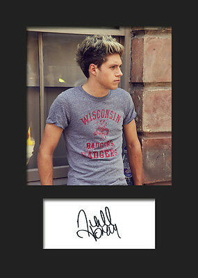 £3.79 • Buy NIALL HORAN (One Direction) #2 Signed A5 Mounted Photo Print - FREE DELIVERY