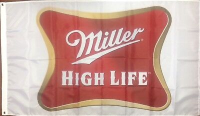 $14.99 • Buy Miller Beer Banner Flag 3' X 5' Ships From NC