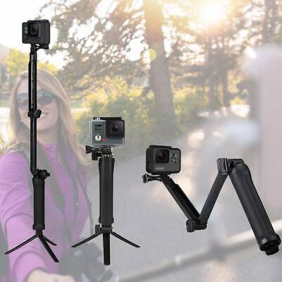 AU8.99 • Buy GOPro Selfie Stick Tripod 3 Feets Stand Monopod Pole For Go Pro HERO 7/6/5/4/3/2
