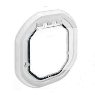 £36.90 • Buy Dog Door Flap By Pet Tek Large Glass Fitting Clear And White Available