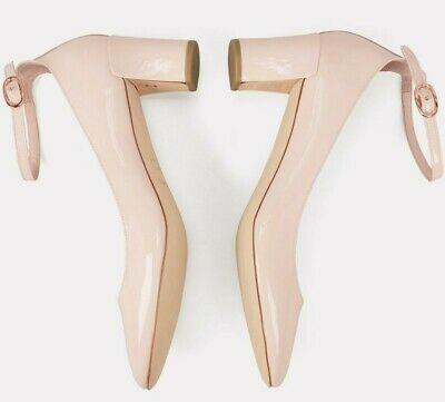 £178.22 • Buy $445 NEW Repetto ELECTRA MARY JANE HEELS Pumps Patent Leather NUDE Pink Shoes 41