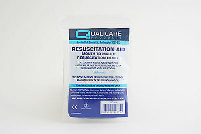 Resuscitation Aid, Mouth To Mouth, CPR, Face Shield, First Aid, Resus Aid • 1.39£