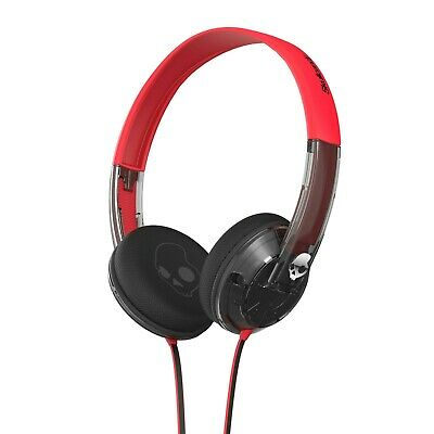 $ CDN33.87 • Buy Skullcandy Headphones Uprock Supreme Sound On Ear Spaced Out Clear Black Red