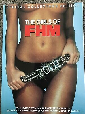 AU24.95 • Buy Fhm Uk Magazine – Special Collectors Edition – The Girls Of 2001